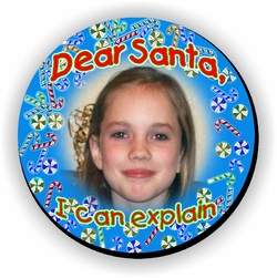 Personalized Candy Canes Christmas Jigsaw Puzzle