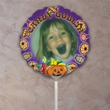 Personalized Candy Is Dandy Halloween Photo Balloon