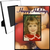 Personalized Christmas Glass Ornaments Picture Frame For A 5x7 Picture