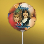 Personalized Christmas Photo Balloons