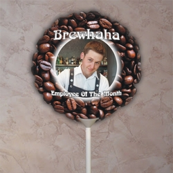 Personalized Coffee Beans Photo Balloon