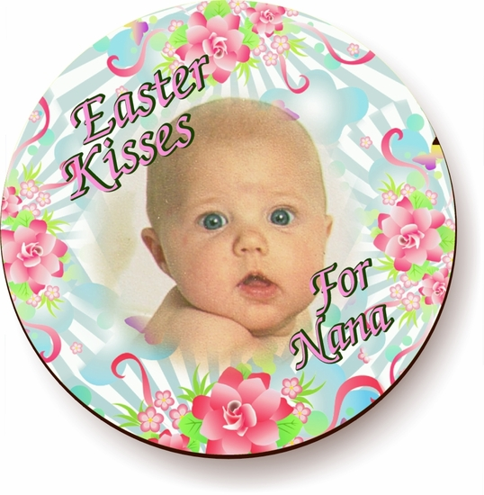 Personalized Easter Bouquet Jigsaw Puzzle
