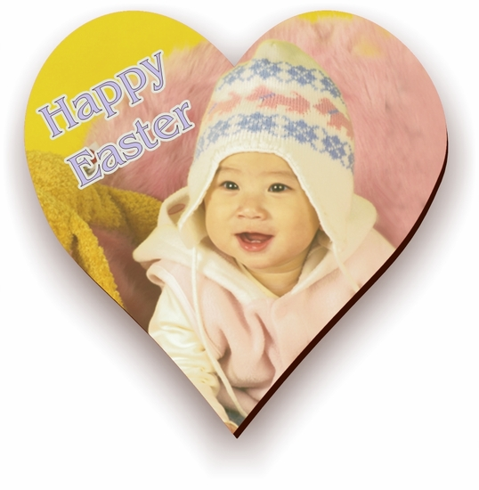 Personalized Easter Heart Photo Jigsaw Puzzle