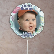Personalized Easter Photo Balloons