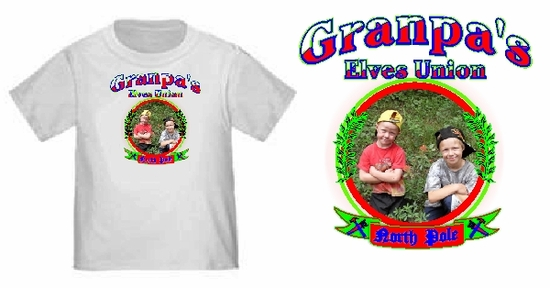 Personalized Elves Union Youth Photo T-Shirt