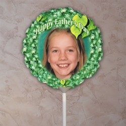 Personalized Evergreen Father�s Day Photo Balloon