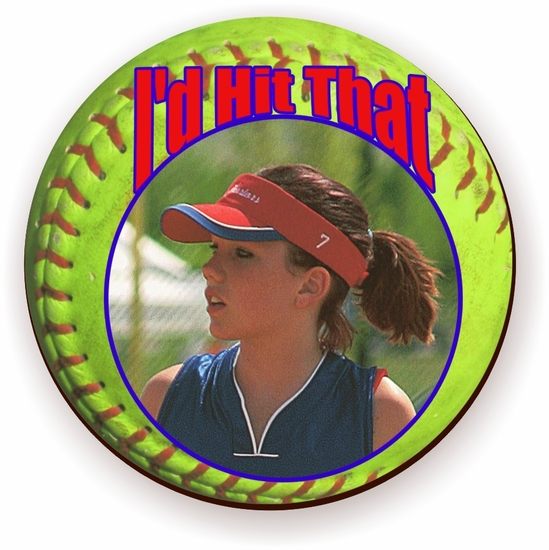 Personalized Fastpitch Softball Jigsaw Puzzle