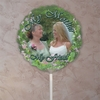 Personalized Flower Garden Photo Balloon