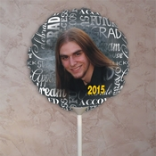 Personalized Graduation Photo Balloons