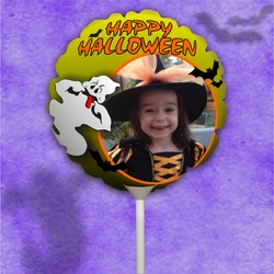 Personalized Halloween Ghost Photo Balloon