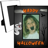 Personalized Halloween Ghost Picture Frame For A 5x7 Picture