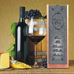 Personalized Halloween Wine And Spirits Box