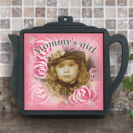 Personalized Iron Teapot Trivet