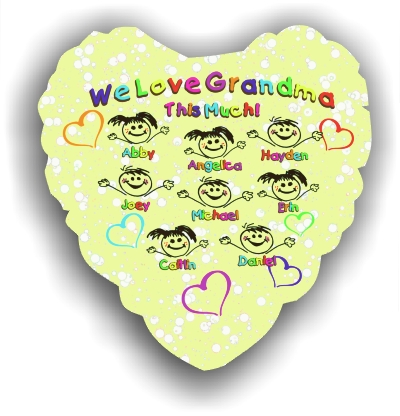 Personalized Kid Characters Balloon