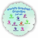 Personalized Kids Handprints Balloon