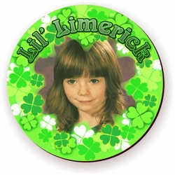Personalized Lil' Limerick St. Patrick's Day Photo Jigsaw Puzzle