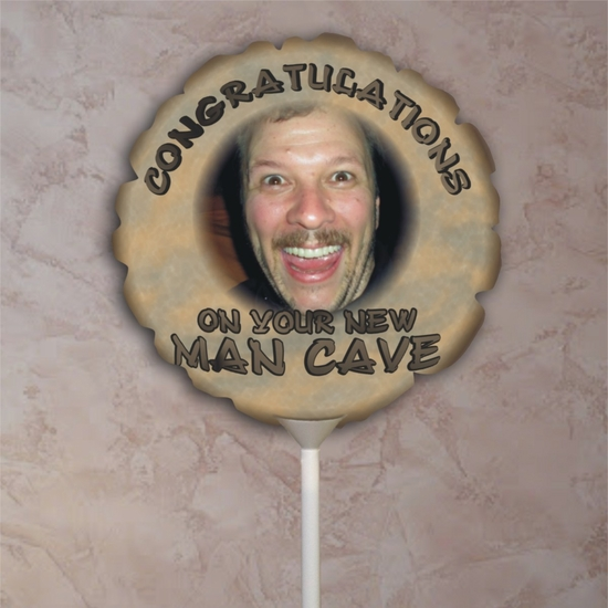 Personalized Man Cave Photo Balloon