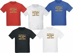 Personalized Man Cave Youth T-Shirt