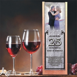 Personalized Marble Wine And Spirits Box