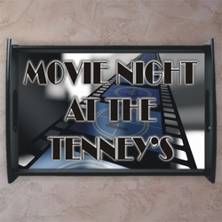 Personalized Movie Film Strip Serving Tray