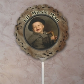 Personalized Music Photo Balloons
