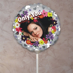 Personalized Only You Valentine Balloon