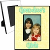 Personalized Pastel Yellow Picture Frame For A 5x7 Picture