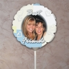 Personalized Patchwork And Hearts Photo Balloon