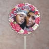Personalized Showers Of Flowers Photo Balloon