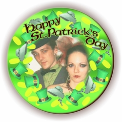 Personalized Top Hats And Bonnets St. Patrick's Day Photo Jigsaw Puzzle