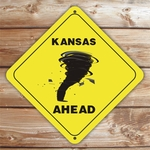 Personalized Tornado Caution Sign