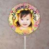 Personalized Vines Of Roses Photo Balloon