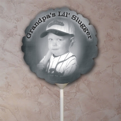 Personalized Vintage Father's Day Photo Balloon