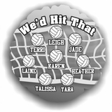 Personalized Volleyball Balloon