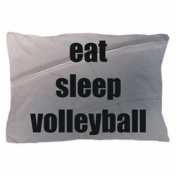 Personalized Volleyball Pillowcase