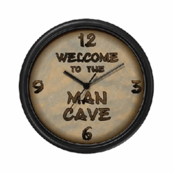 Personalized Welcome To The Man Cave Clock