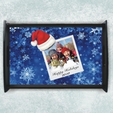 Personalized Winter Photo Serving Tray