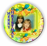 Personalized Yellow Bells Christmas Jigsaw Puzzle