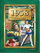 1958 Book for a 60th Anniversary or Birthday