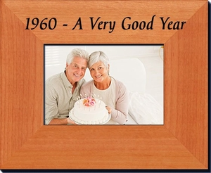 1960 Frame - 55th Birthday Gift - 55th Anniversary Gift
