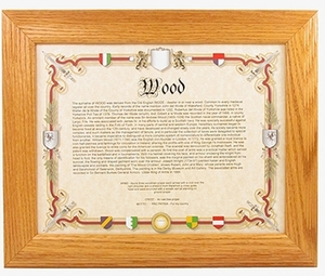 60th Birthday Gifts: Genealogy of Last Name Print