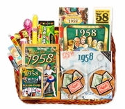 60 Gift Basket with Stamps from 1958