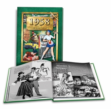 60th Combo Gift: 1958 Book, CD & DVD