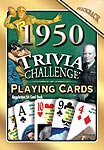 65th Birthday Cards: 1950 Trivia Playing Cards