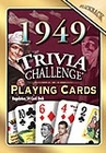 66th Birthday Cards: 1949 Trivia Playing Cards