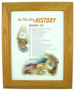 Day in History Print for Any Day