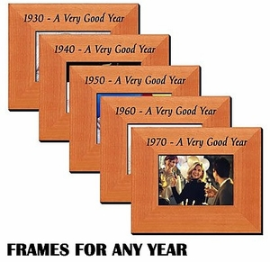 Year Frames (Pick a Year)