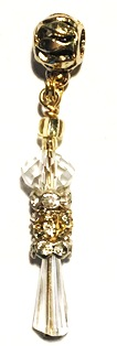 Crystal Loc Jewel Gold One