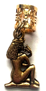 Queen Cleopatra Hair Charm