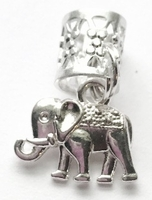 Elephant Small Hair Charm